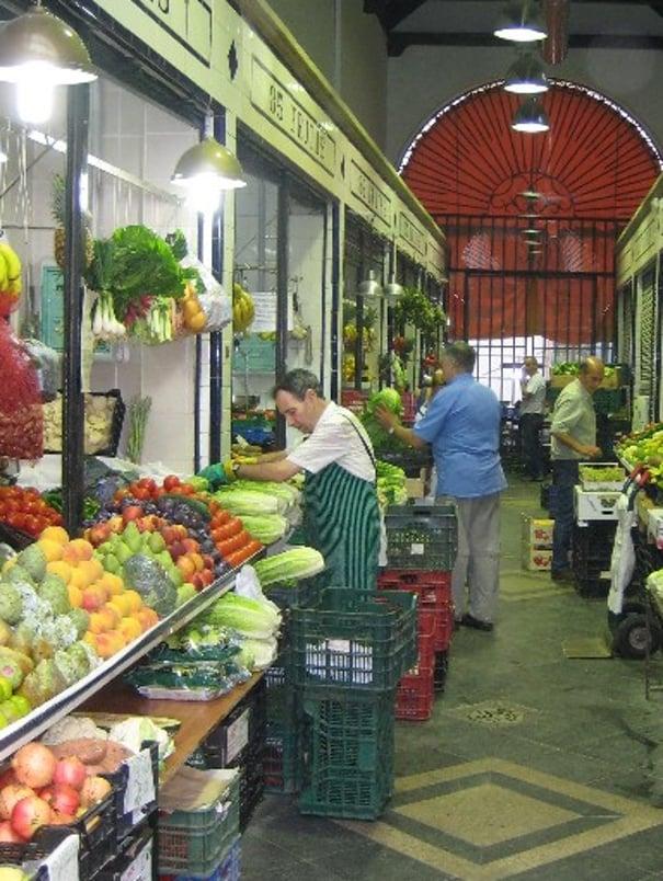 Feria Street Market Seville