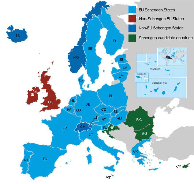 Understanding The Schengen Agreement What It Means For Us