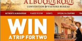 Albuquerque Travel Sweepstakes Feature