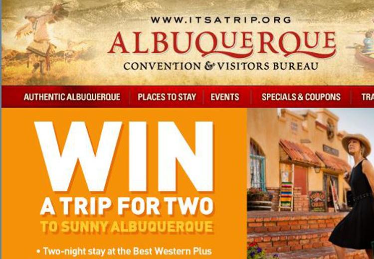 Albuquerque Travel Sweepstakes Feature