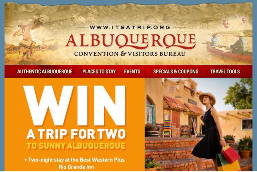 Albuquerque Weekend Travel Sweepstakes