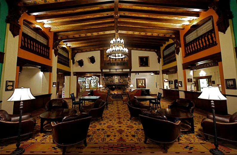 Hotel Alex Johnson Lobby (c) 2014 Hilton Worldwide