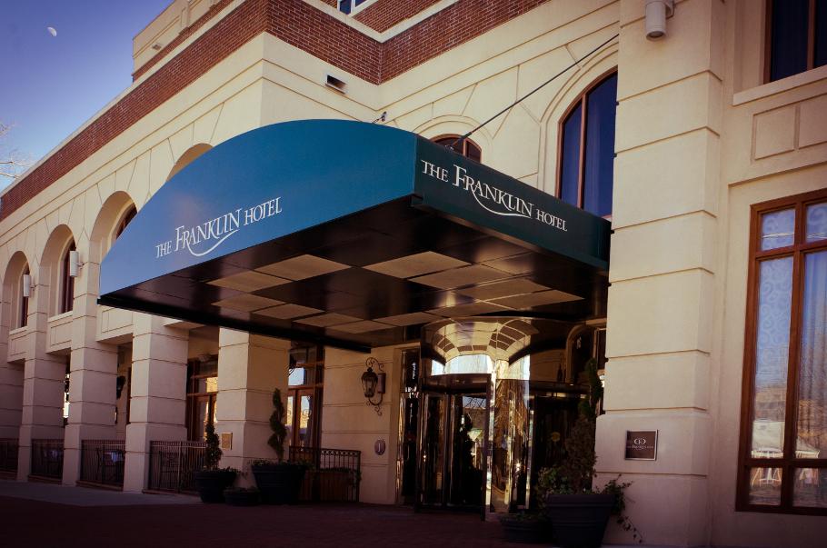 Franklin Hotel Exterior (c) 2014 Hilton Worldwide