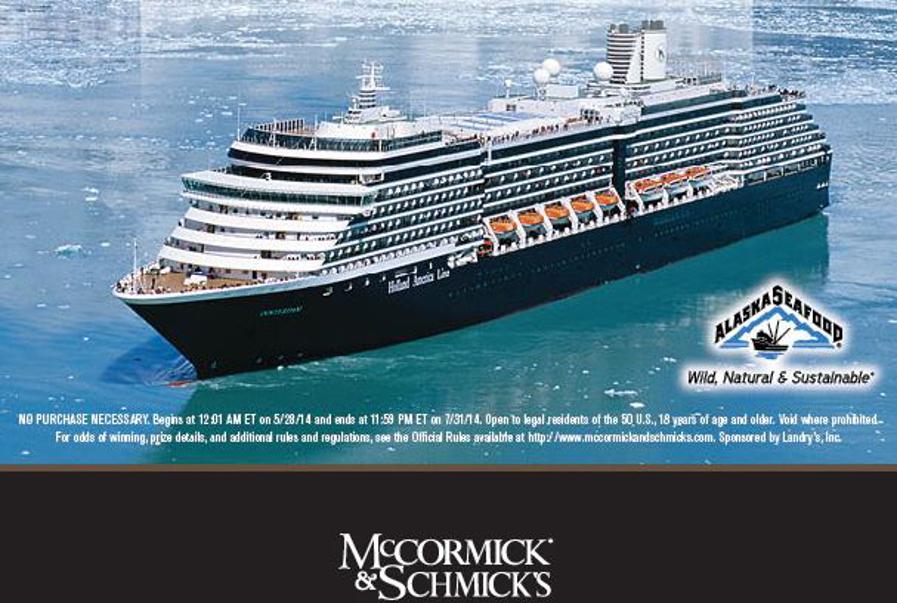 Alaska Cruise Sweepstakes