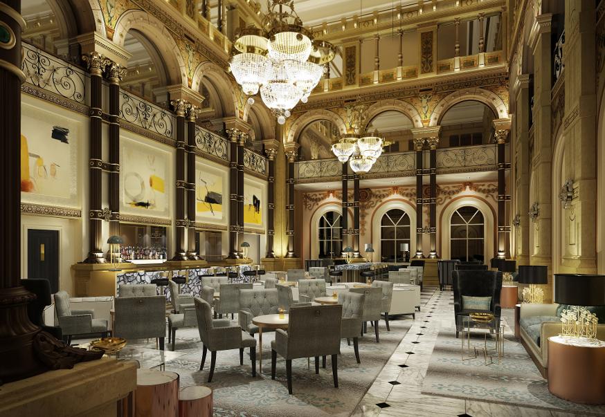 Hilton Paris Opera Lobby