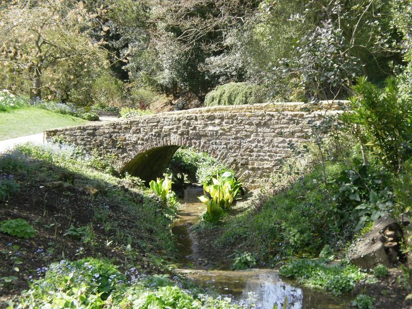 Hidcote Gardens Bridge
