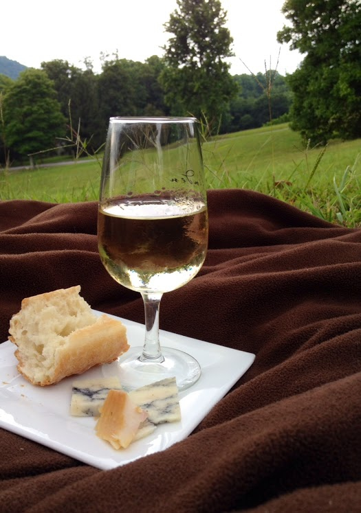 Wine, Bread, Cheese - The Perfect Picnic at Linden Vineyards