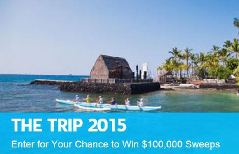 Travel Channel $100,000 Hawaii Sweepstakes
