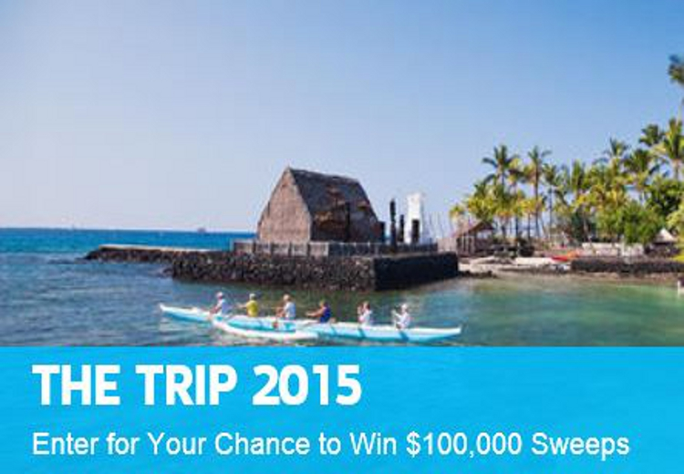 Travel Channel $100,000 Hawaii Sweepstakes Feature