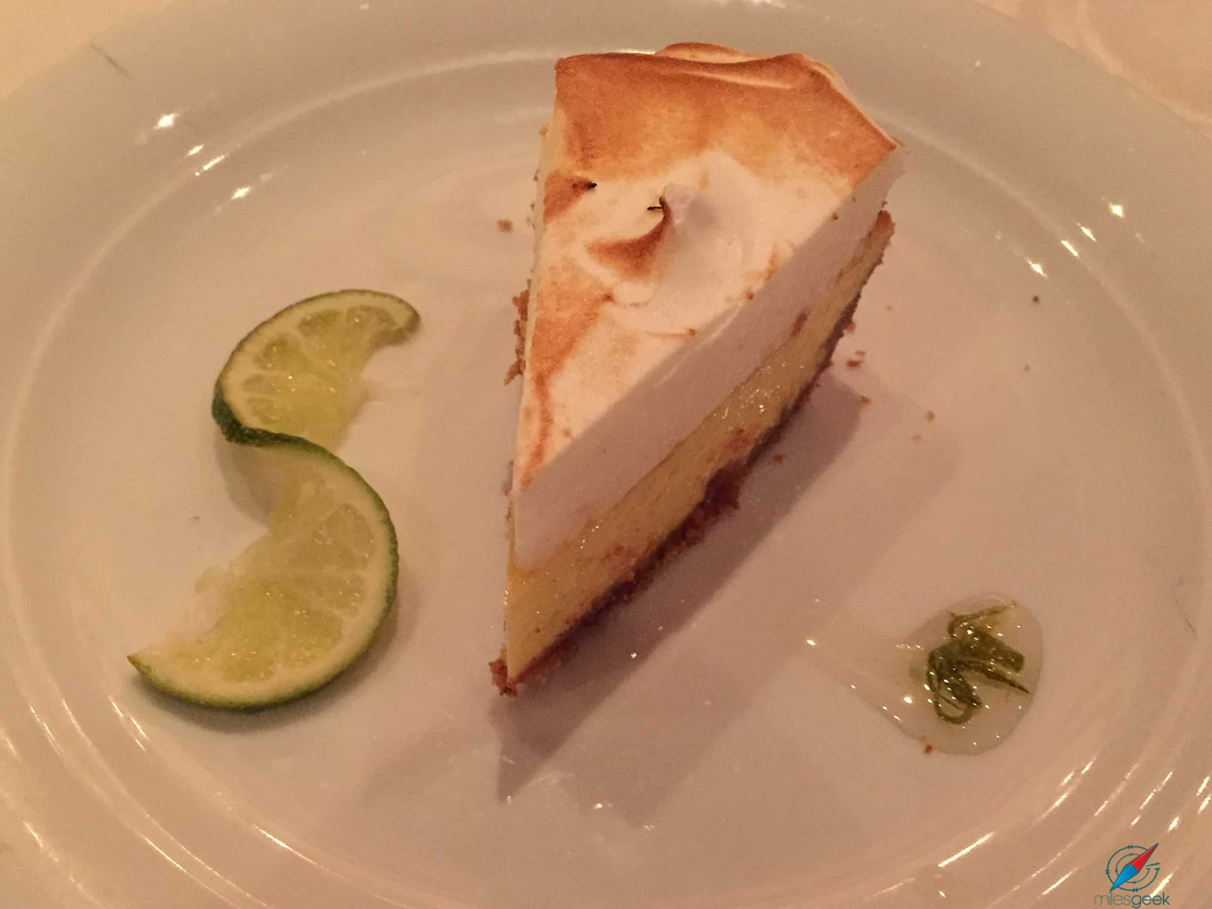 Pride of America - Key Lime Pie