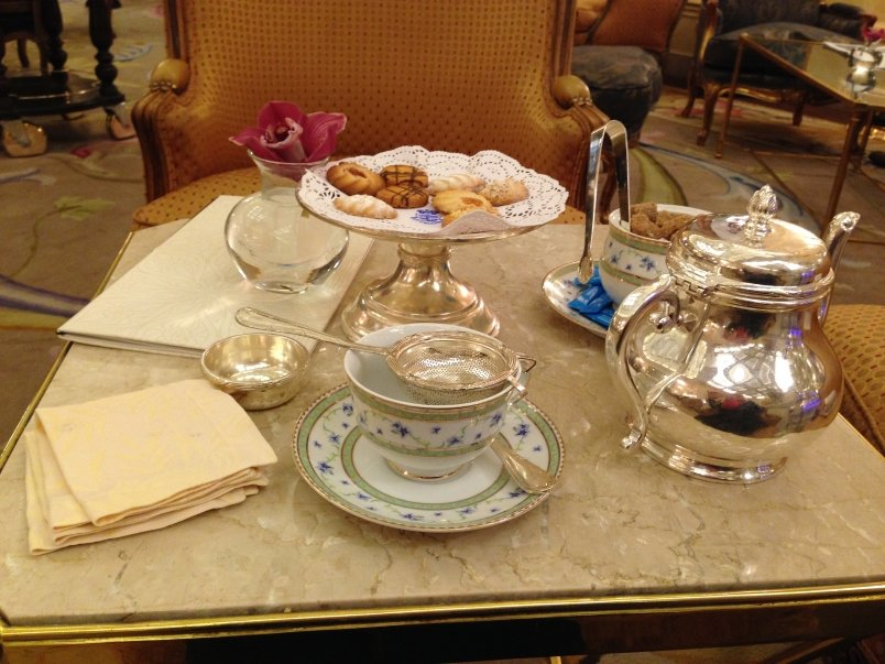 Tea at the Ritz