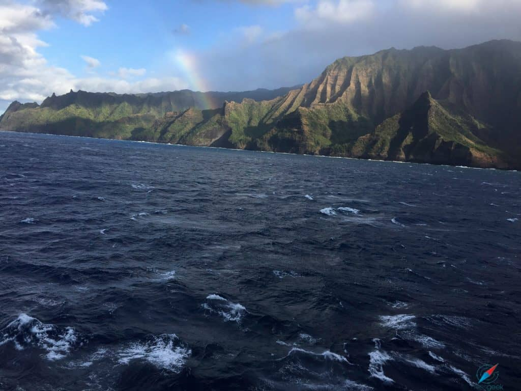 Pride of America cruise Na Pali Coast