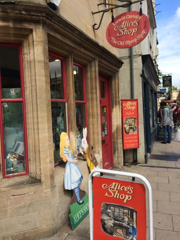 Alice's Shop Oxford