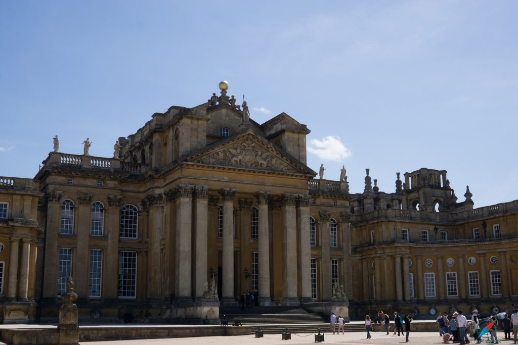 Blenheim Palace Front