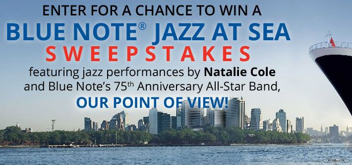 Blue Note Jazz at Sea Sweepstakes