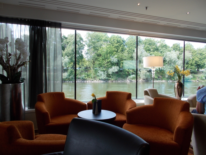 Panorama Lounge is a Relaxing Spot to Sit and Watch the River Artistry II