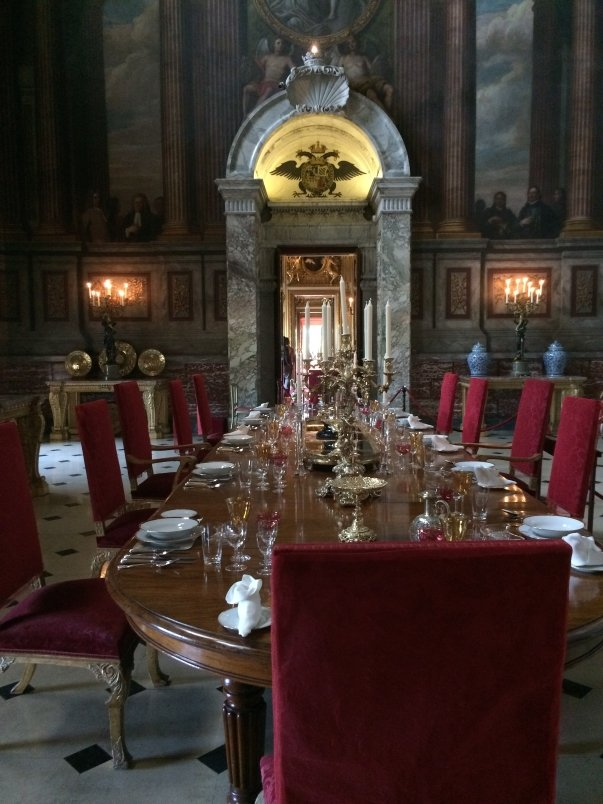 State Dining Room still used by family for Christmas Dinner