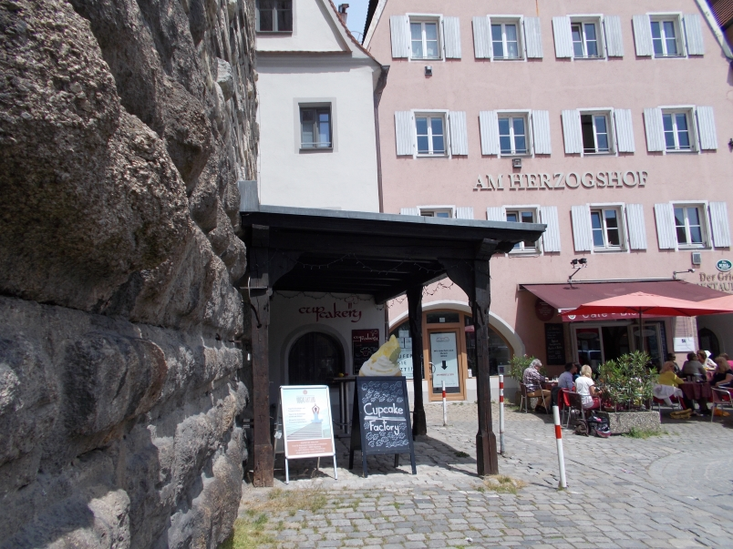 Stones from Original Roman Wall Recycled for 9th Century Construction Regensburg