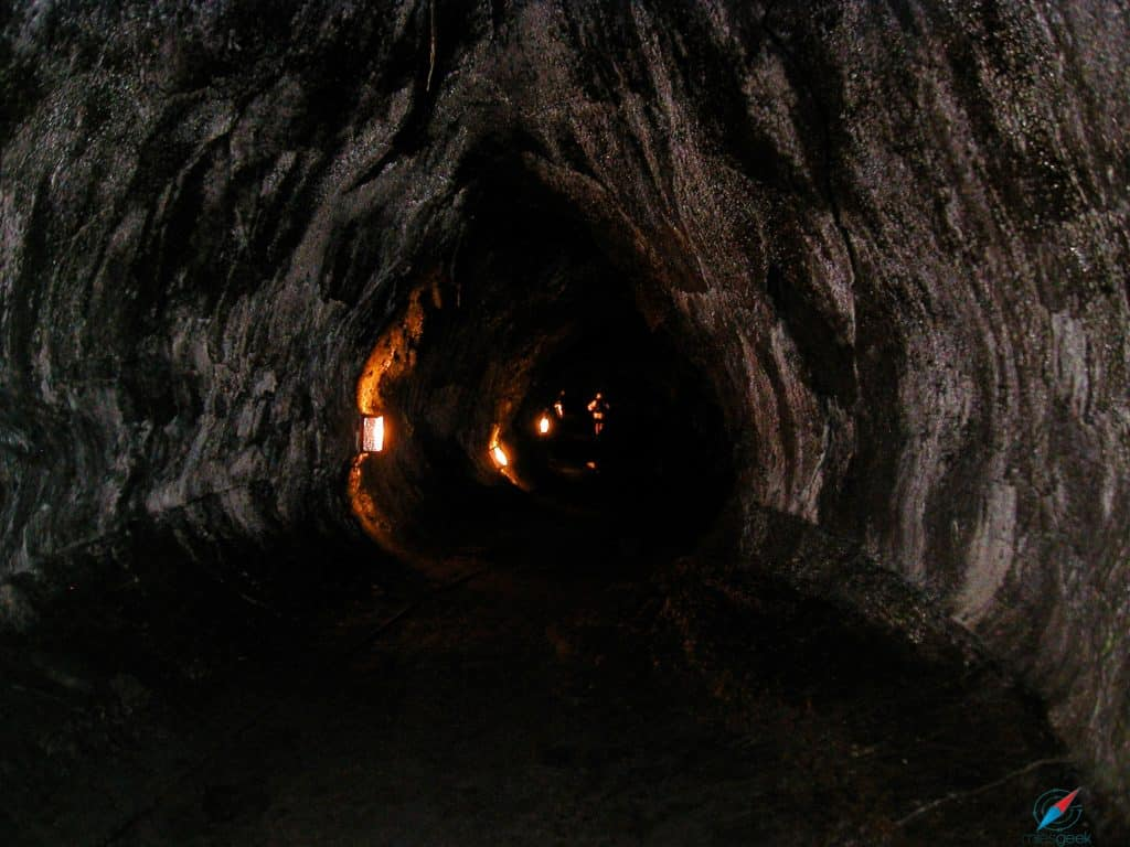 Thurston Lava Tube Sign