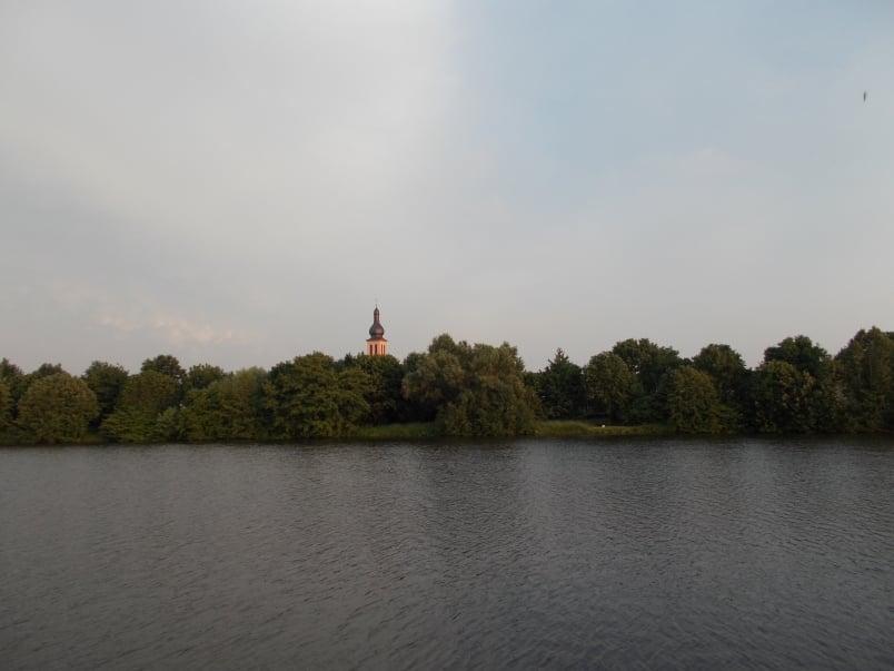 Dusk on the Main River