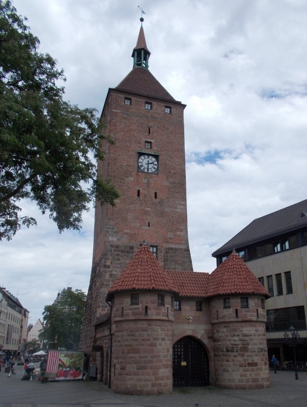 One of the Original City Gates Nuremberg Germany