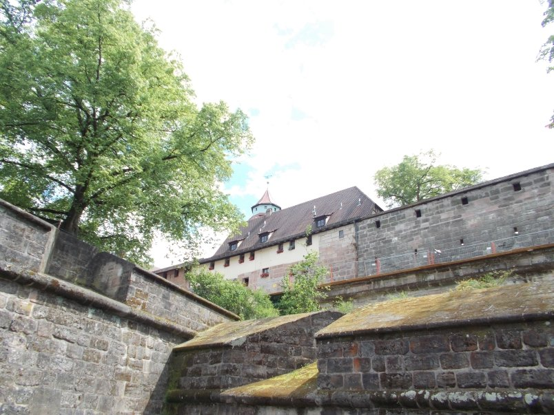 Part of the Old City Walls Still have Covered Walkways