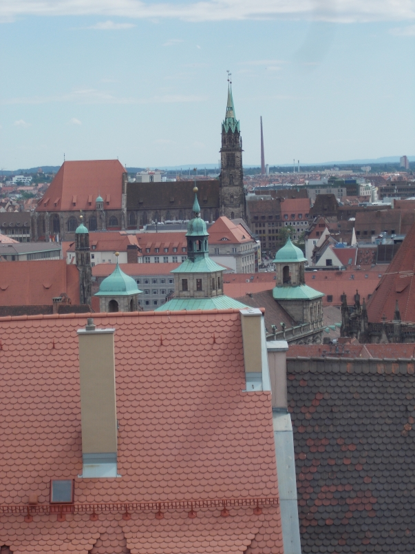 View of the City from the Imperial Castle of Nuremberg