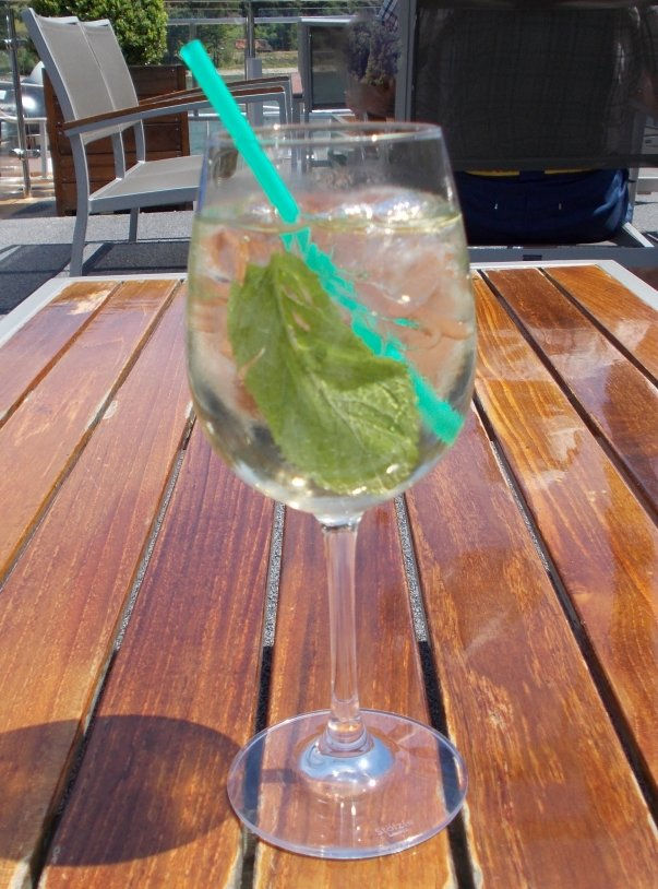 Virgin Mojito on the Rhine