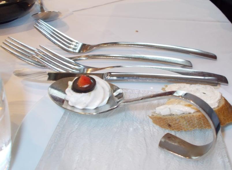 Artistry II Farewell Dinner Amuse Bouche