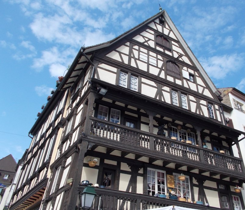 Half Timbered Building Strasbourg