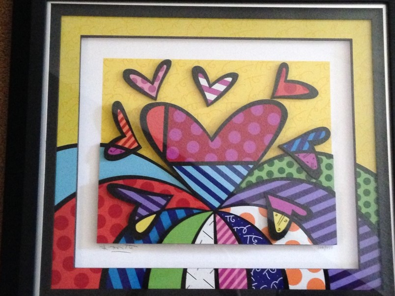 I Love this Land by Romero Britto