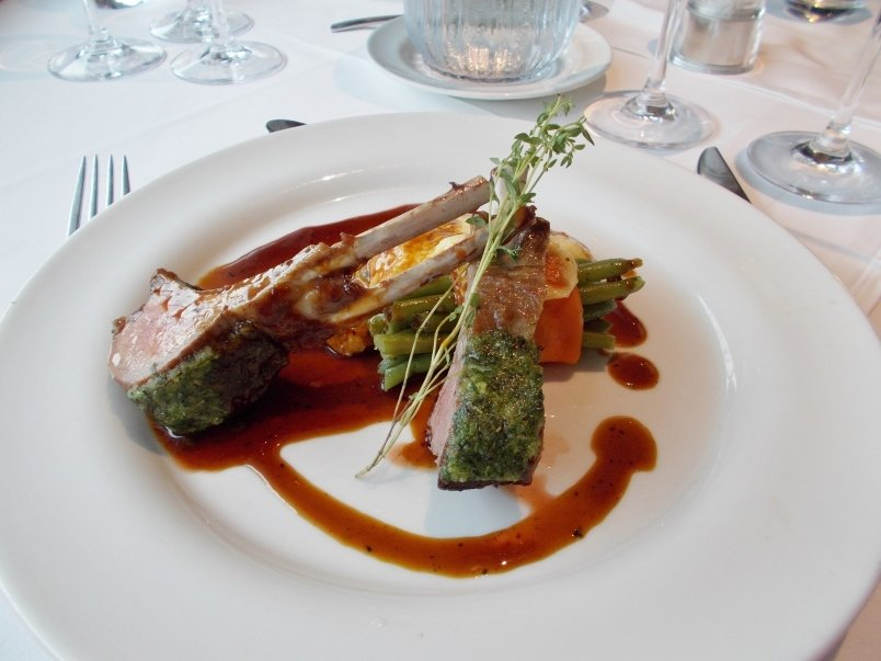 Lamb Entree Artistry II River Cruise