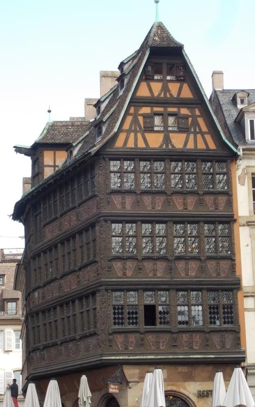 Maison Kammerzell Constructed 1427