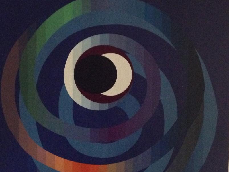 Sun and Moon Intimacy by Yaacov Agam