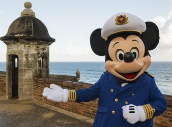 Disney Cruise Line returns to San Juan, Puerto Rico in early 2017 with four sailings to the Southern Caribbean aboard the Disney Magic. With its cobblestone streets, brightly colored buildings and a history that stretches back to the Conquistadors, San Juan offers gorgeous scenery and exciting adventure. (Matt Stroshane, photographer)