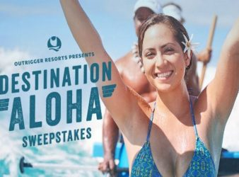 Outrigger Destination Aloha Sweepstakes Feature