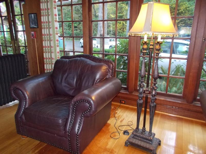 Lake Quinault Lodge Seating