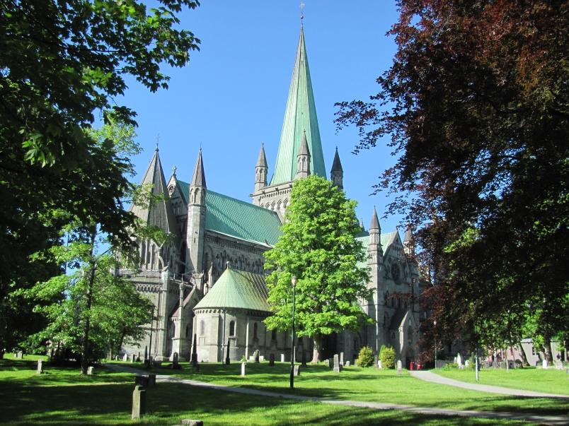 Nidaros Cathedral in Trondheim - Photo by Hurtigruten
