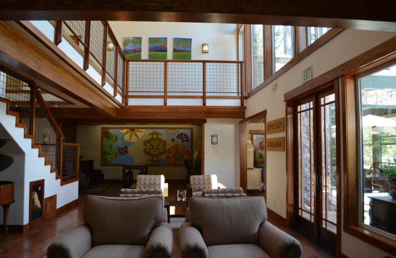 Interior of Grand Idyllwild Lodge