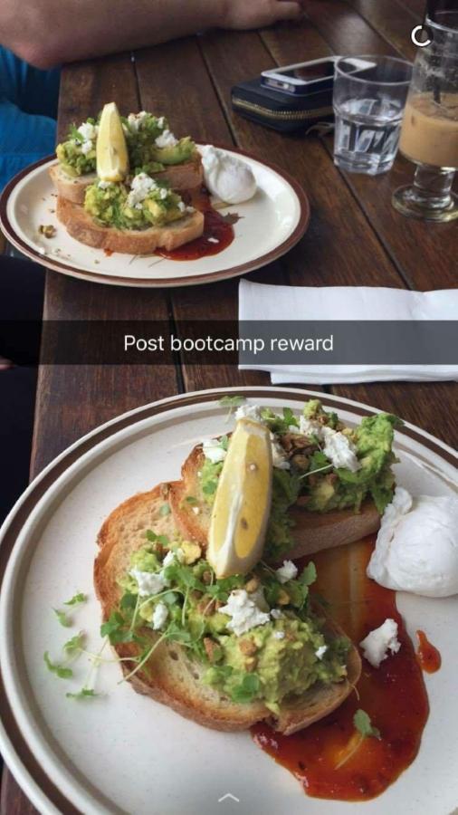 Smashing Avocado The Blue Poppy