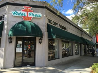 The Cider Press Café , 601 Central Avenue, St. Petersburg, Florida