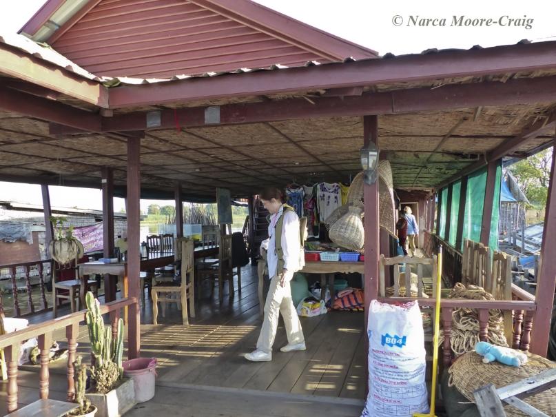 Floating villages restaurant