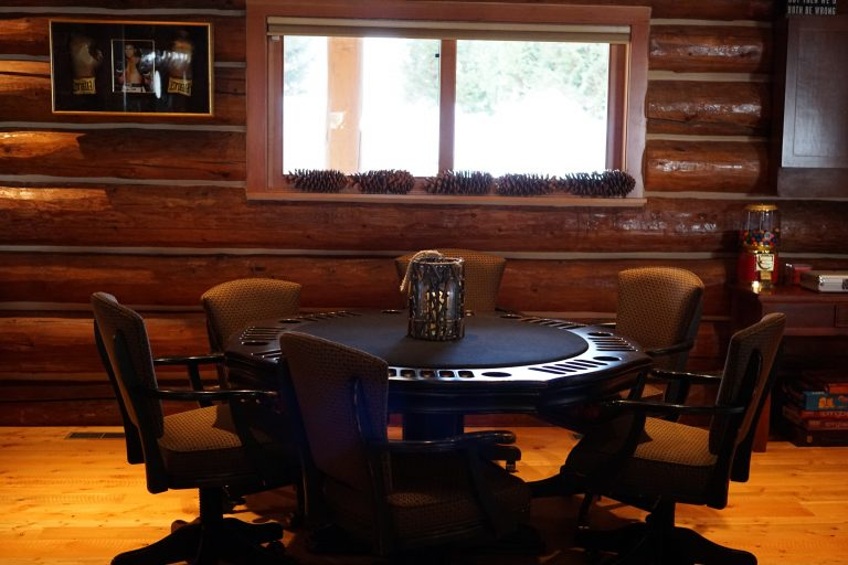 Grand river lodge poker table