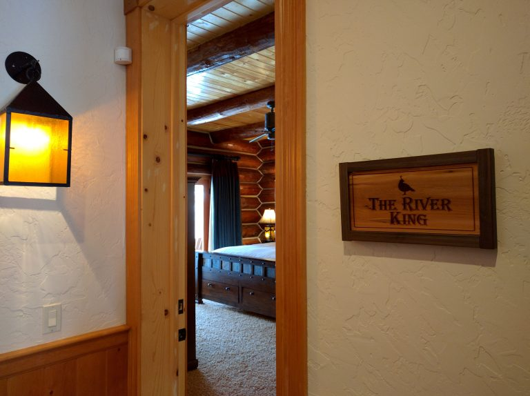 grand river lodge room sign