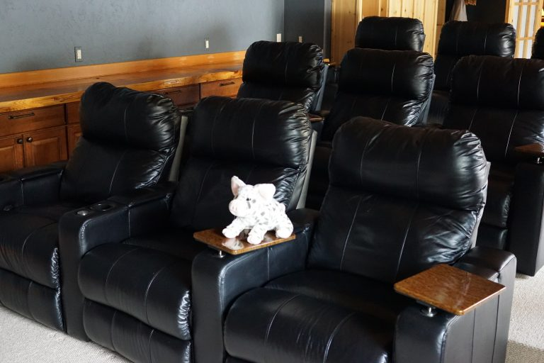 Grand river lodge theater room seating