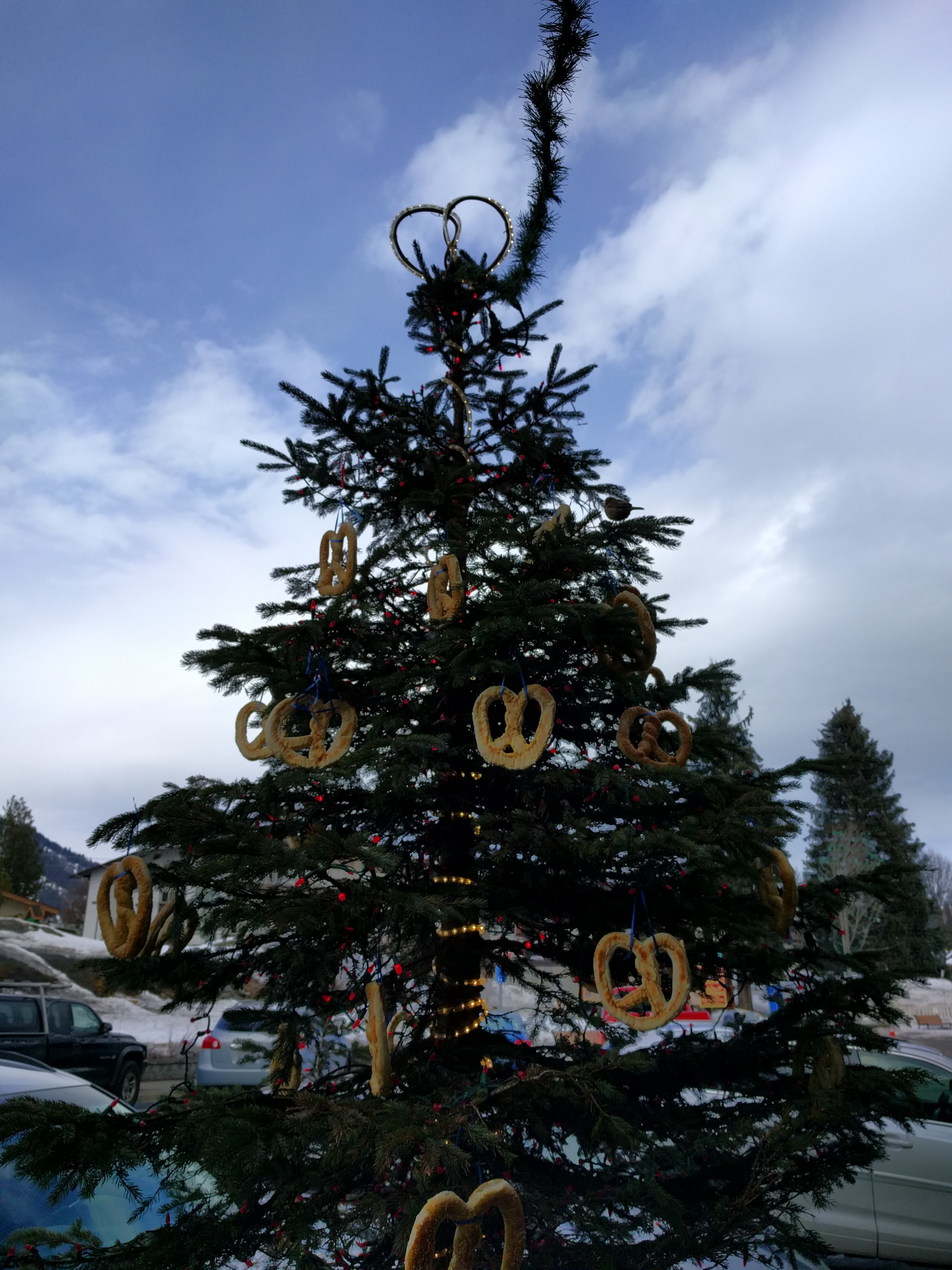 Leavenworth pretzel tree