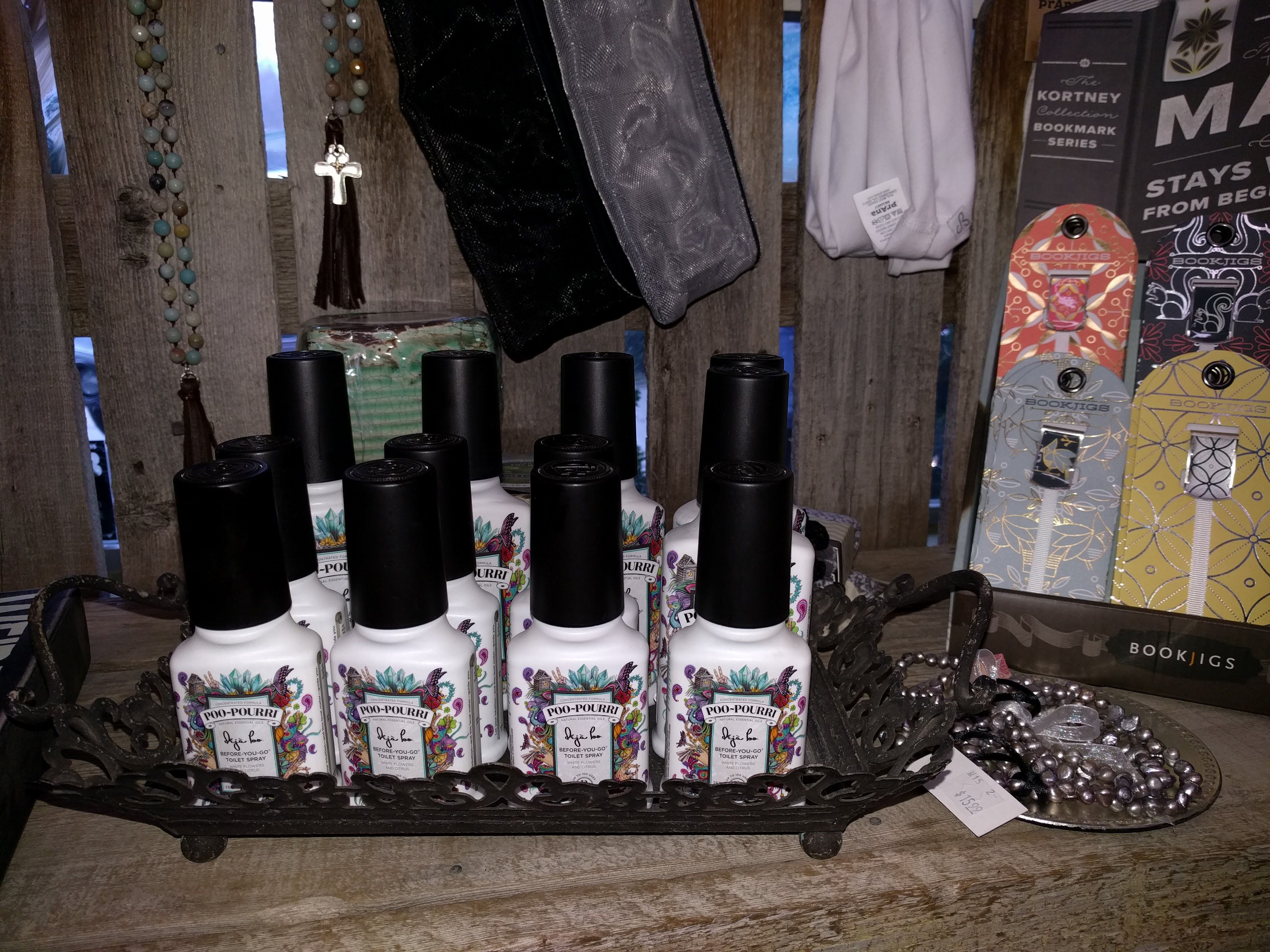 plain hardware poo pourri