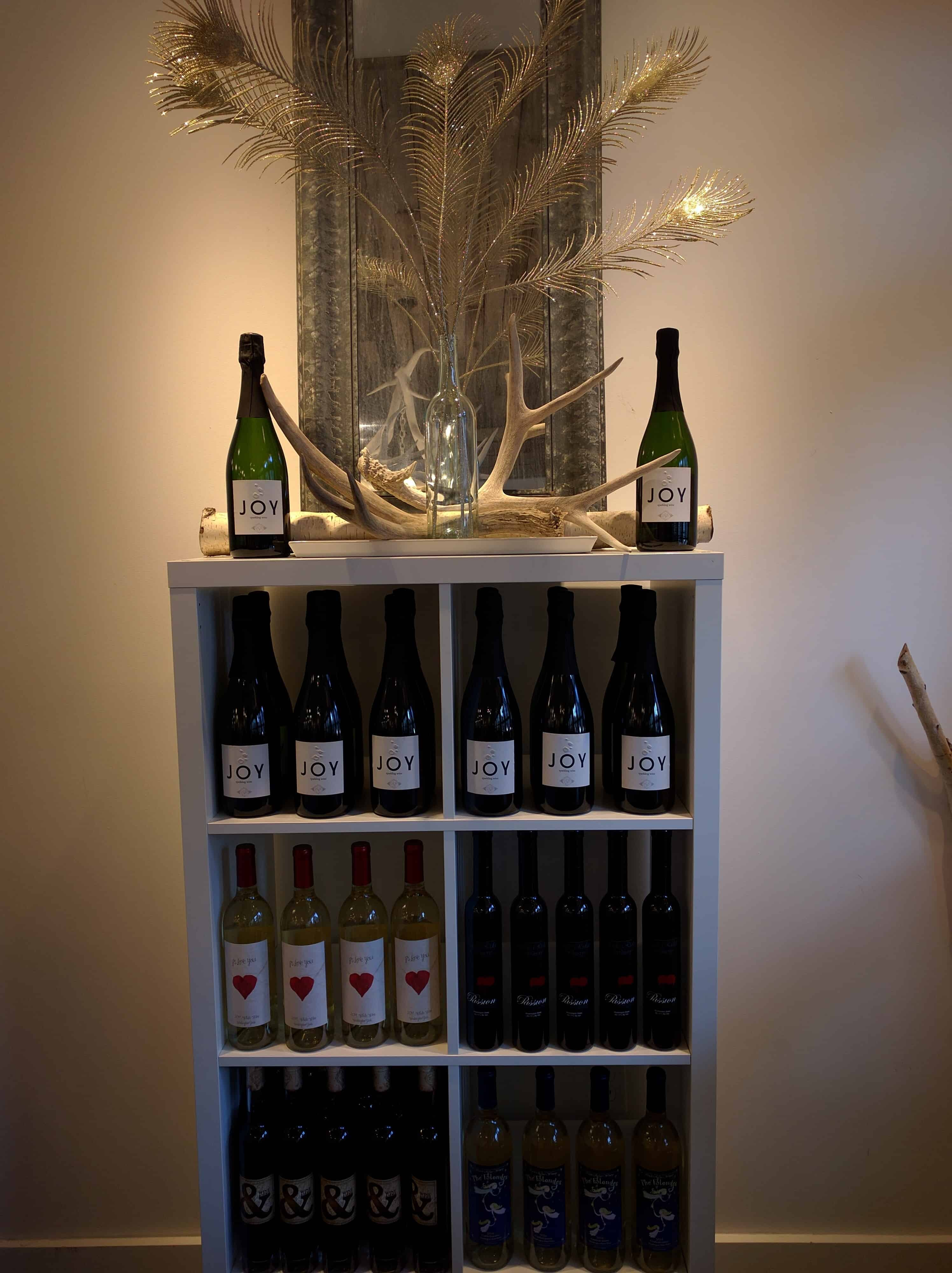 Leavenworth Icicle Winery Bottle of Joy