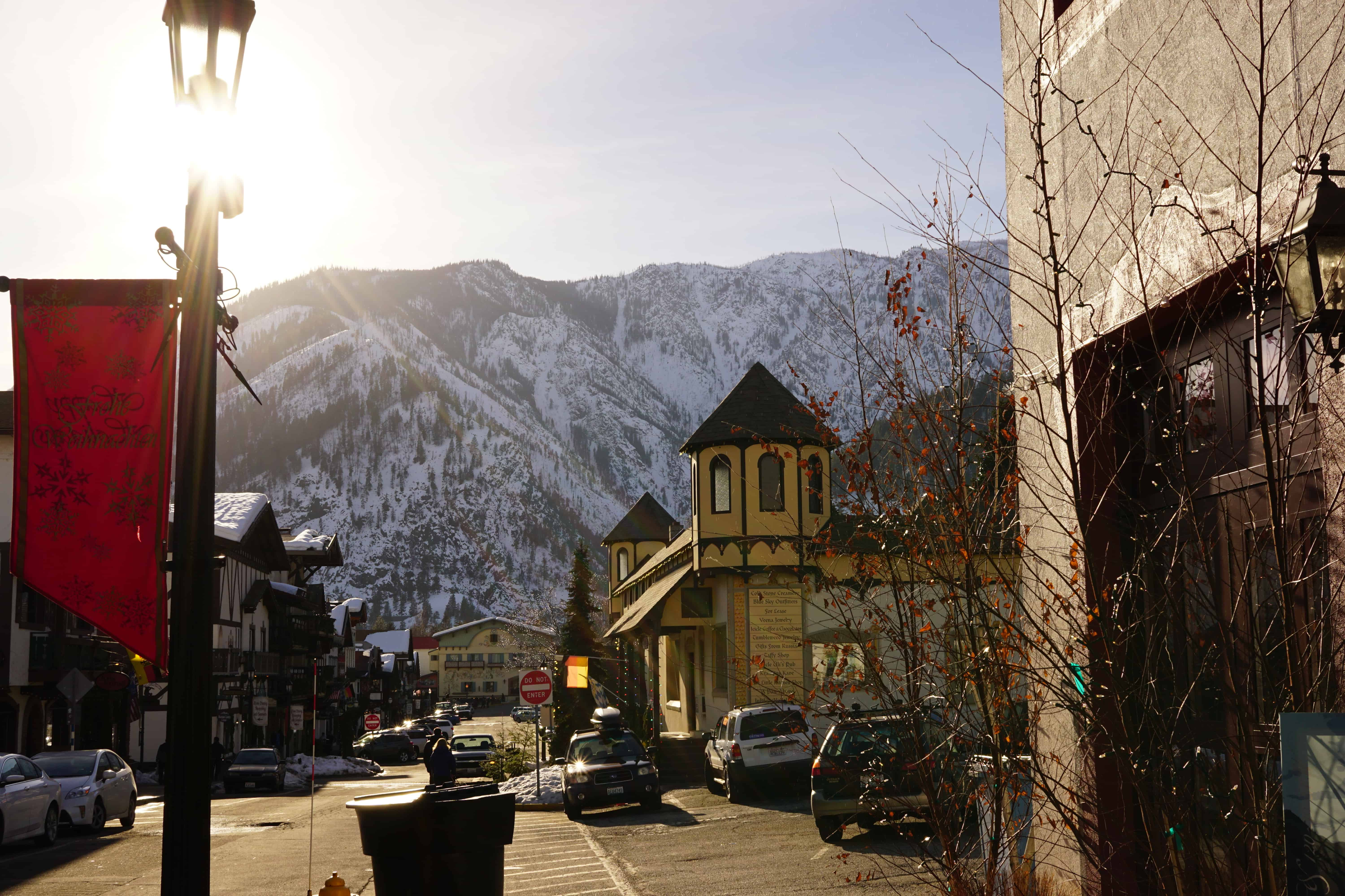 Leavenworth Icicle Winery Uptown Street View