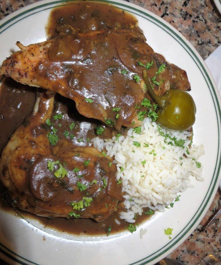 Gumbo Shop chicken espagnole